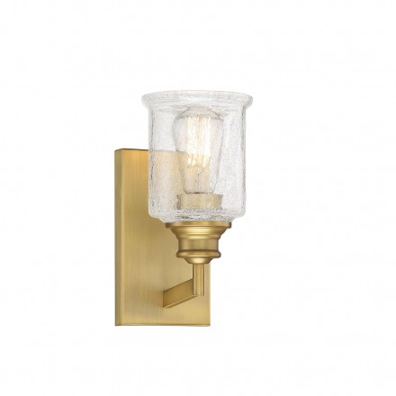 Savoy House Europe Hampton Warm Brass 1 Light Bath