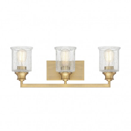 Savoy House Europe Hampton Warm Brass 3 Light Bath
