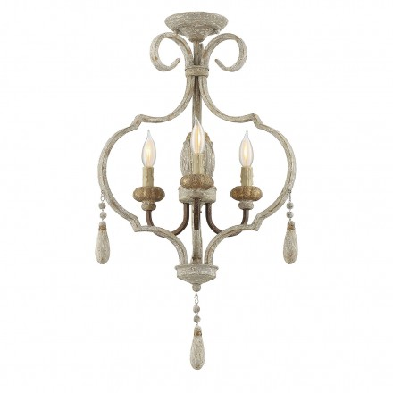 Savoy House Europe Acadia Avignon 3 Light Semi-Flush