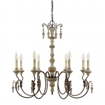 Savoy House Europe Dauphin Avignon 8 Light Chandelier