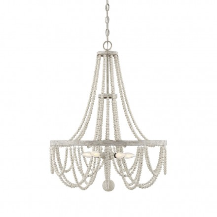 Savoy House Europe Panola Provence 5 Light Chandelier