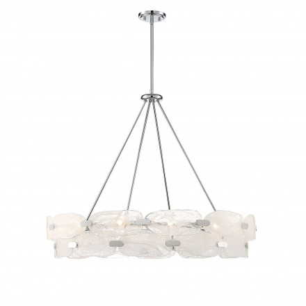 Savoy House Europe Vasare Chrome 12 Light Pendant