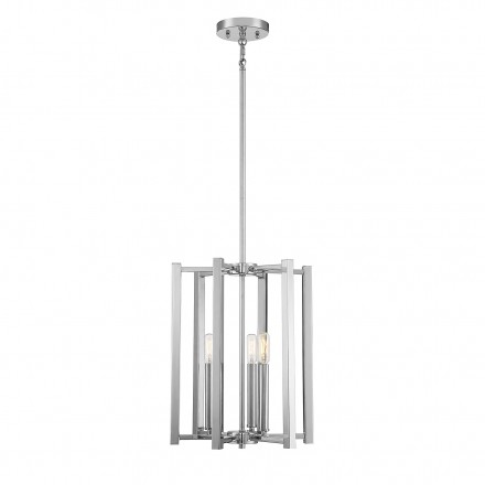 Savoy House Europe Benson 3 Light Polished Nickel Pendant