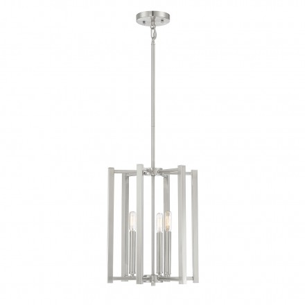 Savoy House Europe Benson 3 Light Satin Nickel Pendant