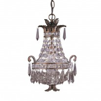 Savoy House Europe Mini Chandelier 1 Light Hanging Lamp