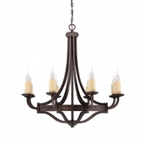 Savoy House Europe Elba 8 Light Chandelier