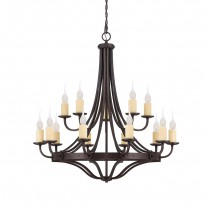 Savoy House Europe Elba 15 Light Chandelier