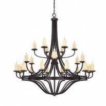 Savoy House Europe Elba 24 Light Chandelier