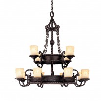 Savoy House Europe San Gallo 12 Light Chandelier