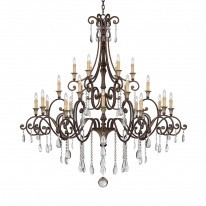 Savoy House Europe Saint Laurence 24 Light Chandelier