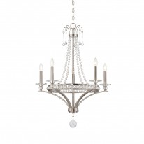 Savoy House Europe Alana 5 Light Chandelier