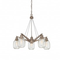 Savoy House Europe Orsay 5 Light Chandelier
