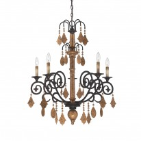 Savoy House Europe Aragon 5 Light Chandelier