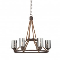 Savoy House Europe Maverick 6 Light Chandelier