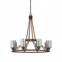 Savoy House Europe Maverick 8 Light Chandelier