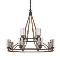 Savoy House Europe Maverick 12 Light Chandelier