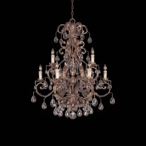 Savoy House Europe Chastain 9 Light Chandelier