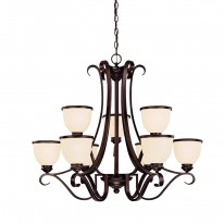 Savoy House Europe Willoughby 9 Light Chandelier