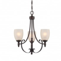 Savoy House Europe Duvall 3 Light Chandelier