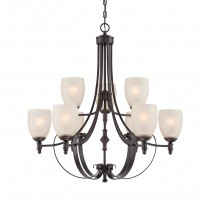 Savoy House Europe Duvall 9 Light Chandelier