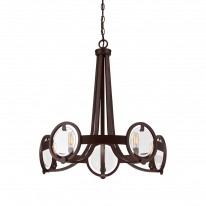 Savoy House Europe Byrne 5 Light Chandelier