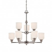 Savoy House Europe Melrose 9 Light Chandelier