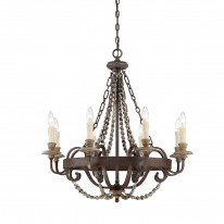Savoy House Europe Mallory 8 Light Chandelier