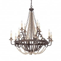 Savoy House Europe Mallory 12 Light Chandelier