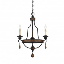 Savoy House Europe Kelsey 3 Light Chandelier
