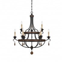 Savoy House Europe Kelsey 9 Light Chandelier