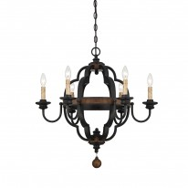 Savoy House Europe Kelsey 6 Light Chandelier