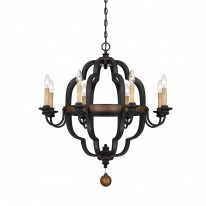 Savoy House Europe Kelsey 8 Light Chandelier