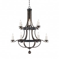 Savoy House Europe Alsace 12 Light Chandelier