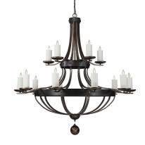 Savoy House Europe Alsace 15 Light Chandelier 2