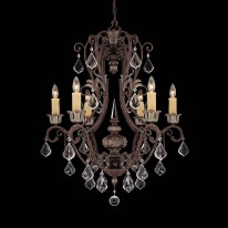 Savoy House Europe Elizabeth 6 Light Chandelier
