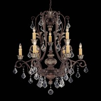 Savoy House Europe Elizabeth 9 Light Chandelier