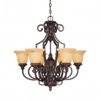 Savoy House Europe Knight 6 Light Chandelier
