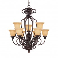 Savoy House Europe Knight 9 Light Chandelier
