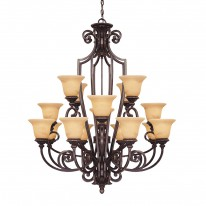 Savoy House Europe Knight 16 Light Chandelier