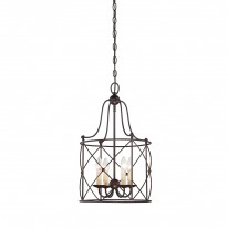 Savoy House Europe Seneca 4 Light Hanging Lamp