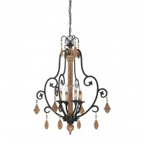 Savoy House Europe Aragon 4 Light Hanging Lamp