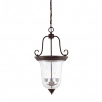Savoy House Europe Entry Lantern 3 Light Hanging Lamp 3