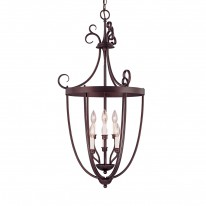 Savoy House Europe Entry Lantern 6 Light Hanging Lamp 8