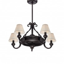 Savoy House Europe Fandelier 5 Light Bronze