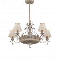 Savoy House Europe Fandelier 5 Light White