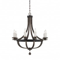 Savoy House Europe Alsace 8 Light Chandelier