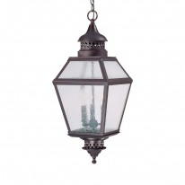Savoy House Europe Chiminea 3 Light Hanging Lamp