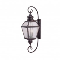 Savoy House Europe Chiminea 3 Light Wall Lamp