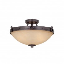 Savoy House Europe Elba 3 Light Semi-Flush