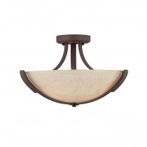 Savoy House Europe Berkley 3 Light Semi-Flush Lamp